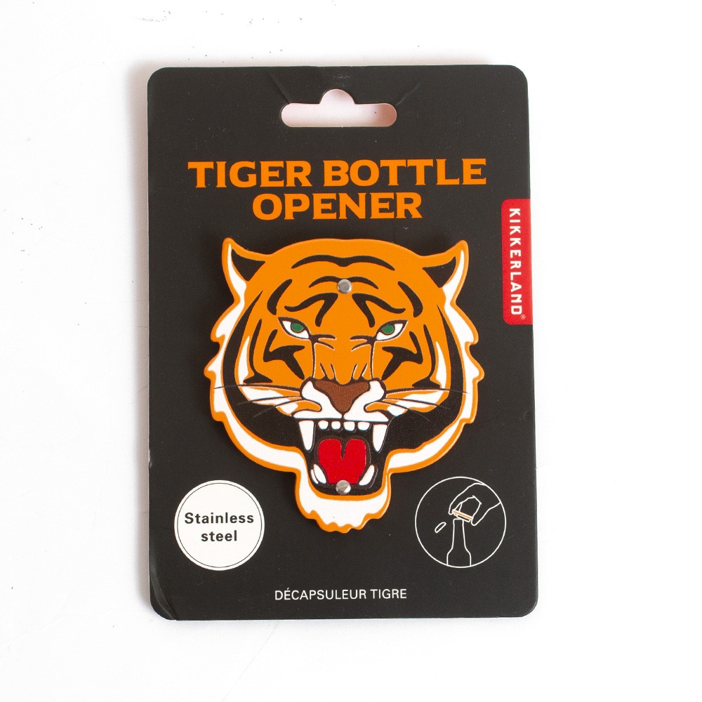 Kikkerland, Tiger, Bottle Opener